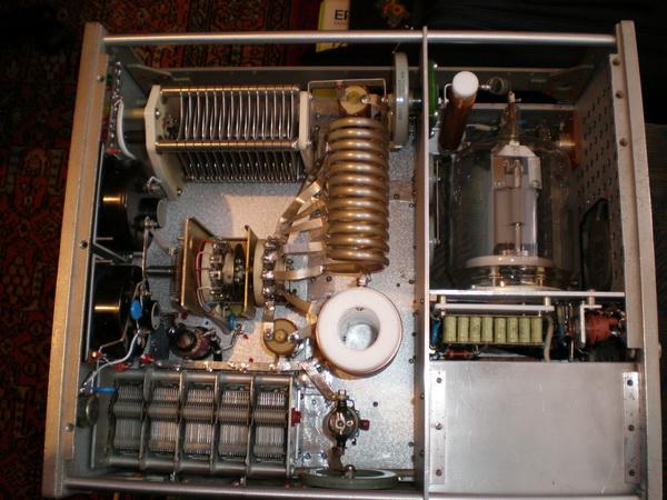 ФНЧ для ГУ-81м от UX7MX ( реле РПА-12 в подвале фнч, сверху контура) размер 145х90х55мм.